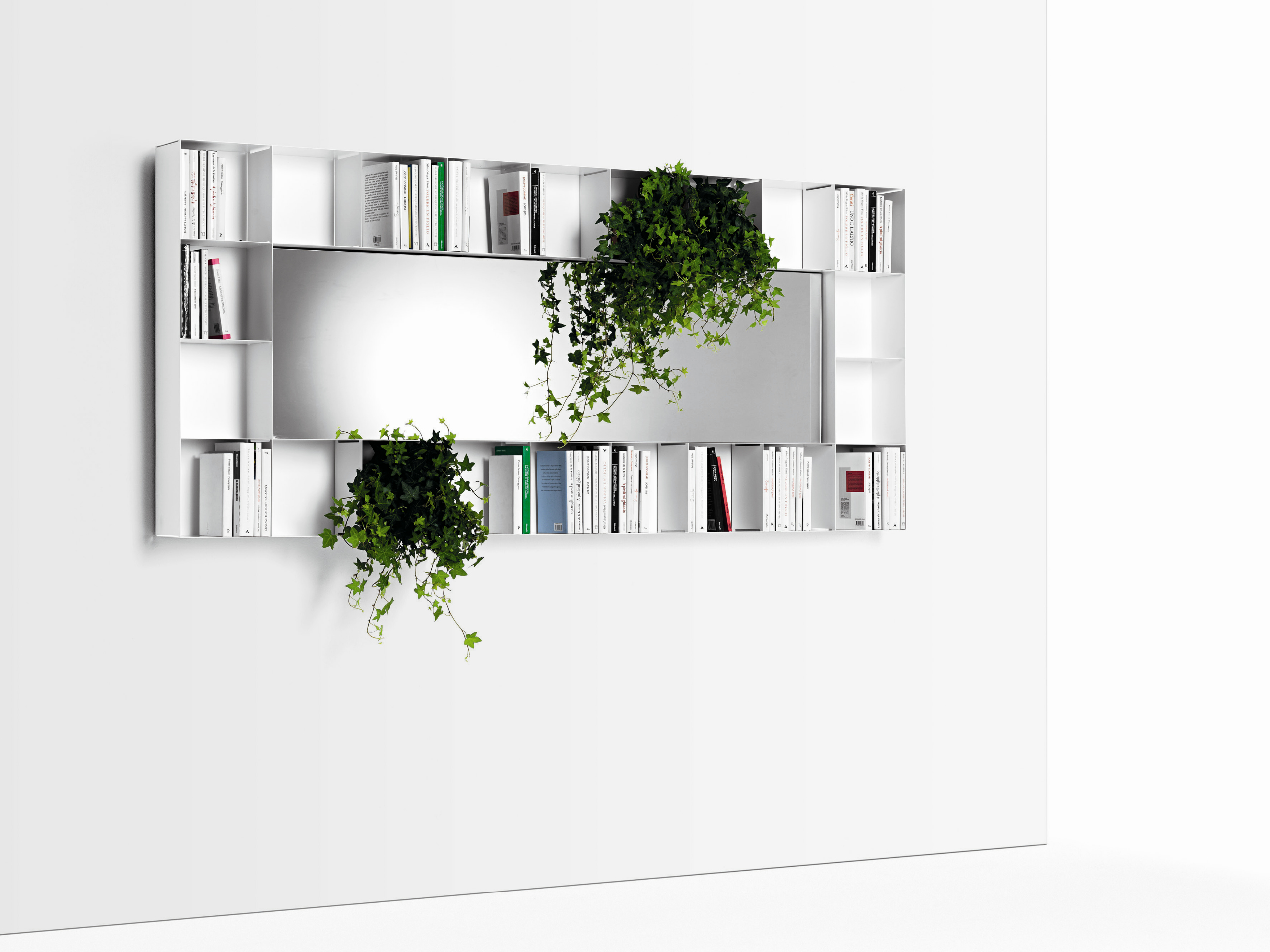 Biblioth que miroir bel vedere by opinion ciatti for Acheter miroir design