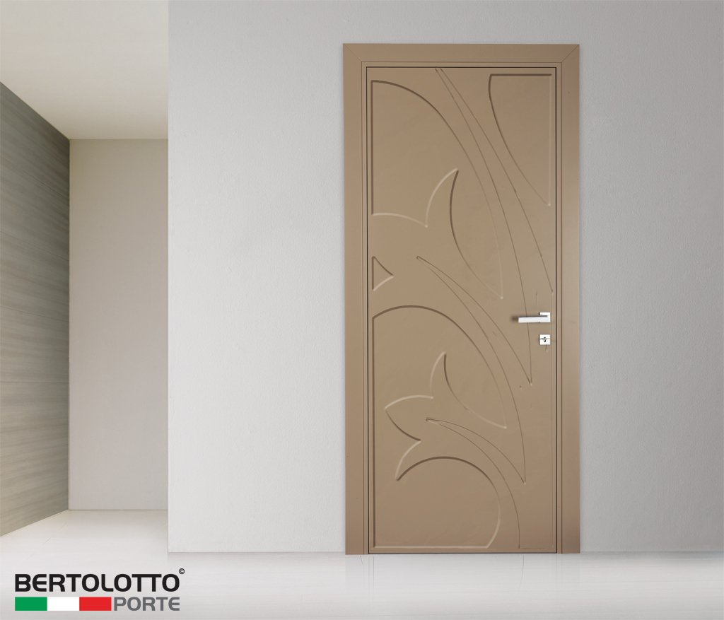 Hinged lacquered door natura hyacintus by bertolotto for What does porte mean