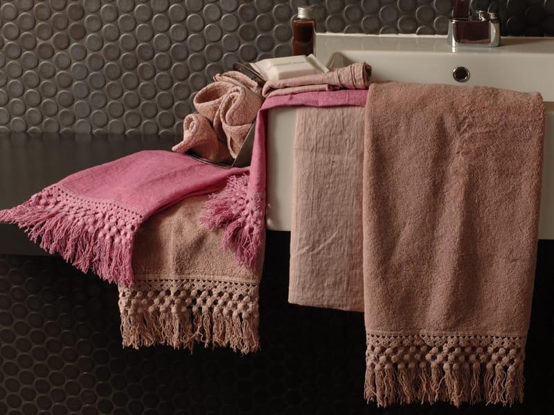 Frange serviette de bain by la fabbrica del lino by - Range serviette de bain ...