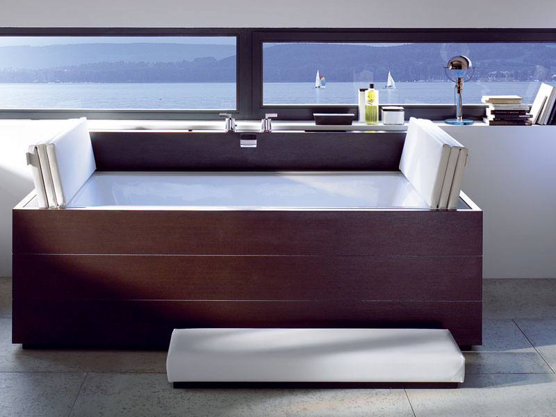 sundeck spa poser by duravit design eoos. Black Bedroom Furniture Sets. Home Design Ideas