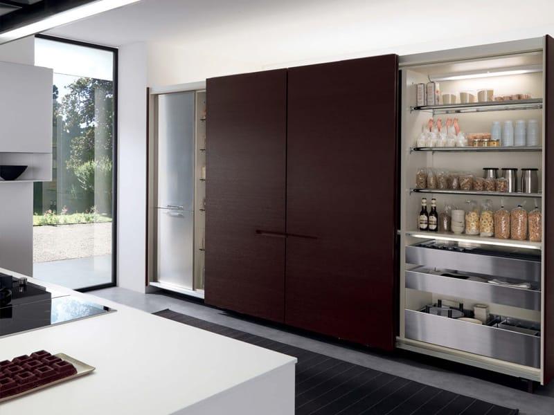 Cucina componibile con maniglie integrate assim collezione - Prezzi cucine euromobil ...