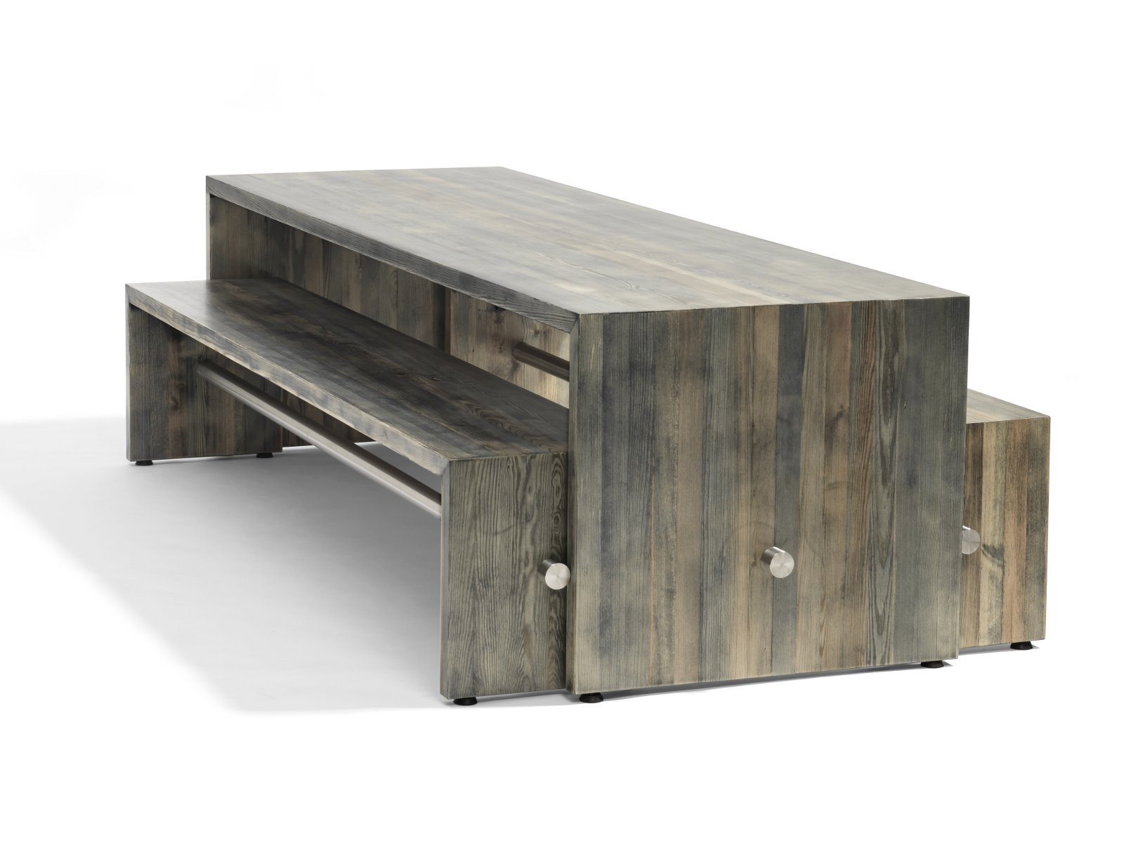 Ping pong tavolo by bl station design johan lindau Table de jardin avec banc attenant