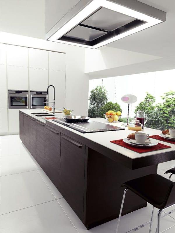 Cuisine int gr e de style contemporain avec lot vanity for Cuisine 3d solidworks