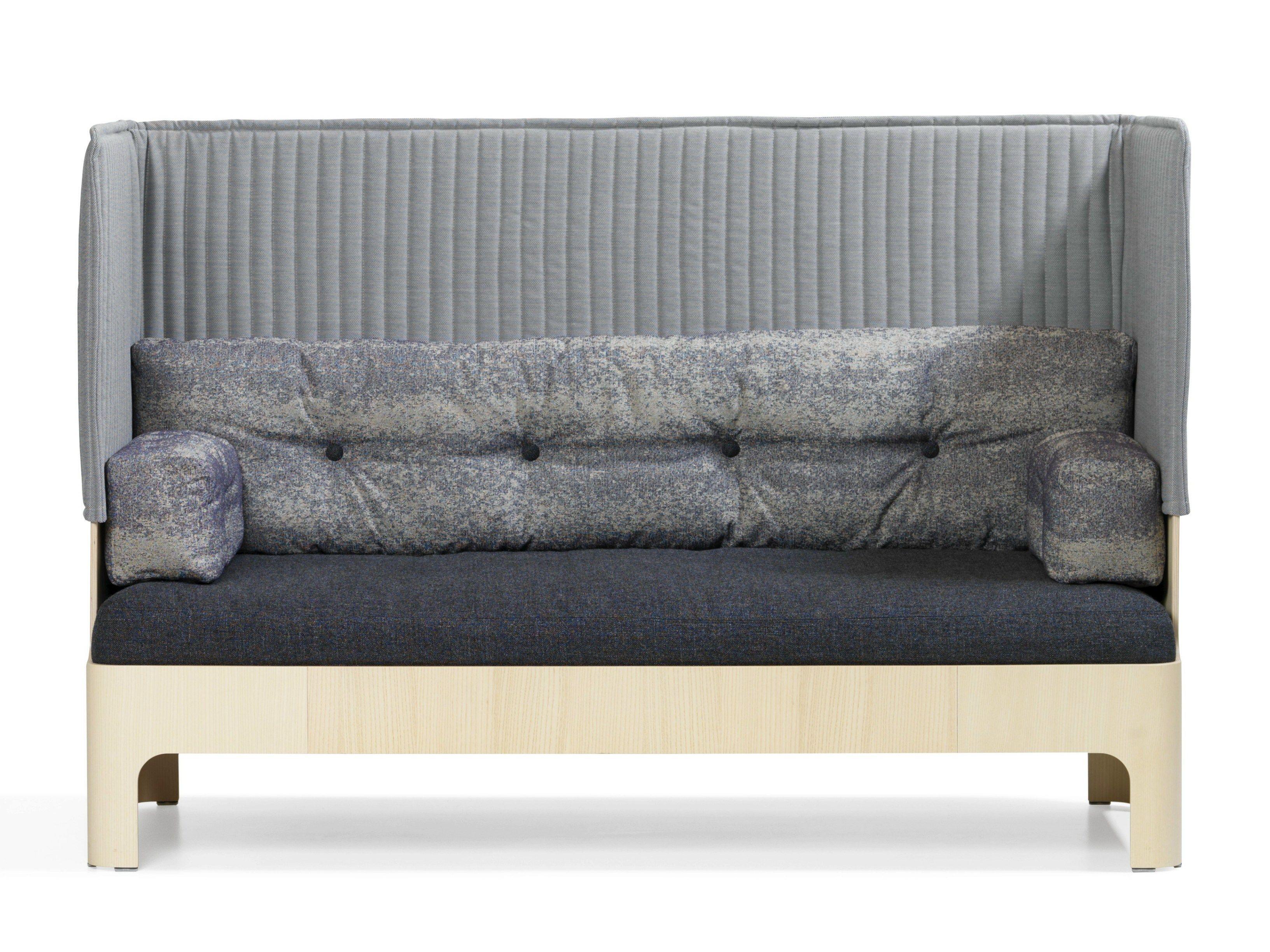 sofa mit hoher r ckenlehne koja sofa mit hoher r ckenlehne bl. Black Bedroom Furniture Sets. Home Design Ideas