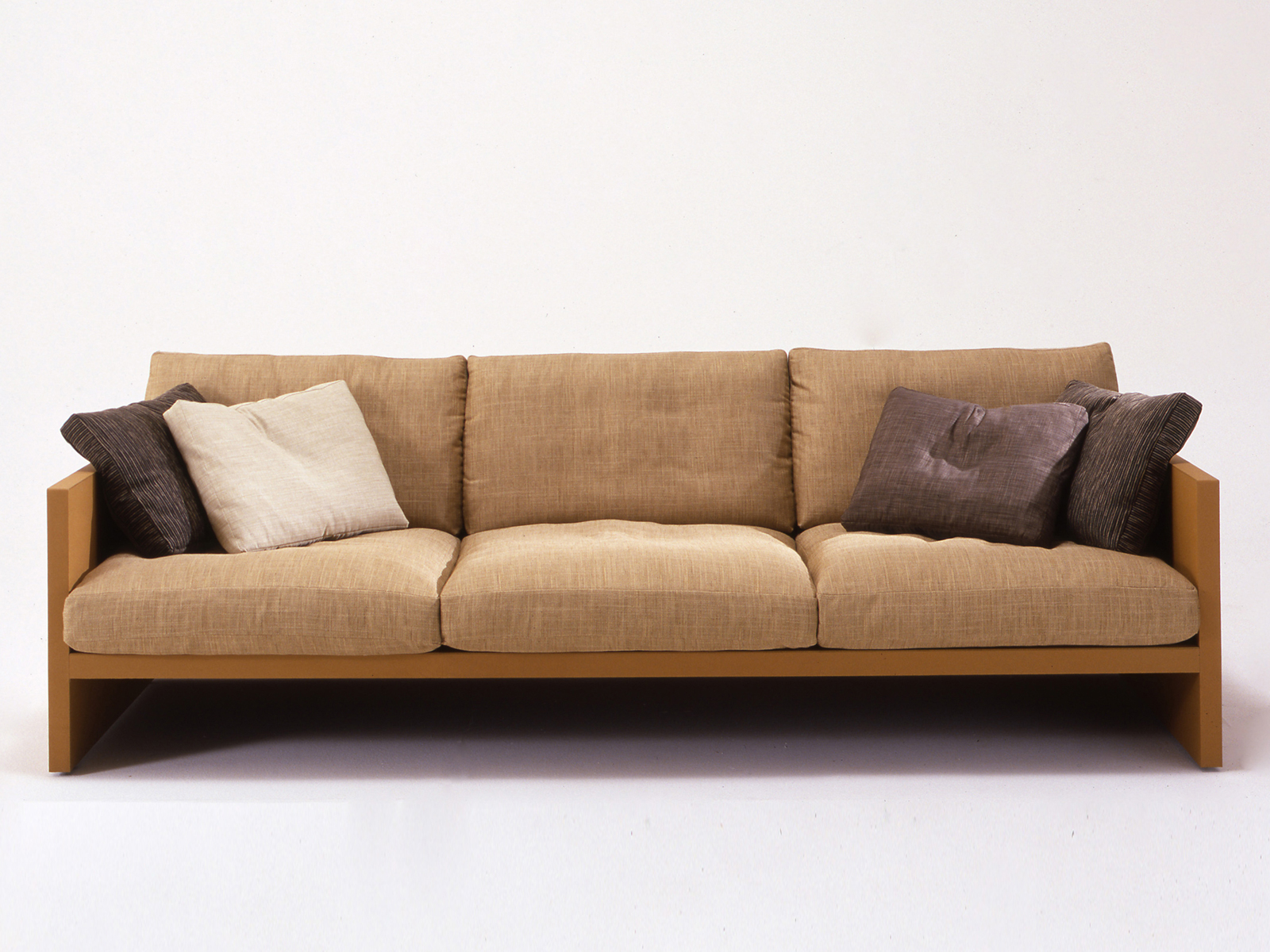 3 seater upholstered sofa brick collection by i 4 mariani for 3 seater sofa