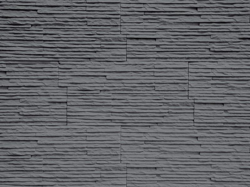 Rev tement mural 3d en pierre reconstitu e pour int rieur - Revetement mural pierre interieur ...