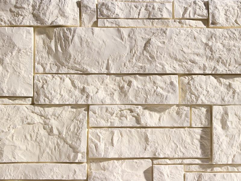 Revestimiento de pared 3d de piedra reconstituida para for Piedra revestimiento pared