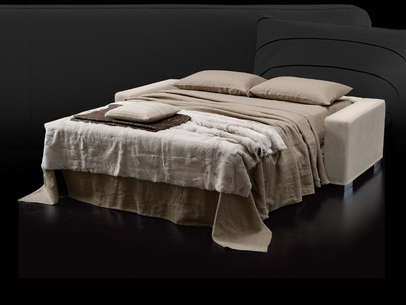 fabric sofa bed with removable cover matrix by milano. Black Bedroom Furniture Sets. Home Design Ideas