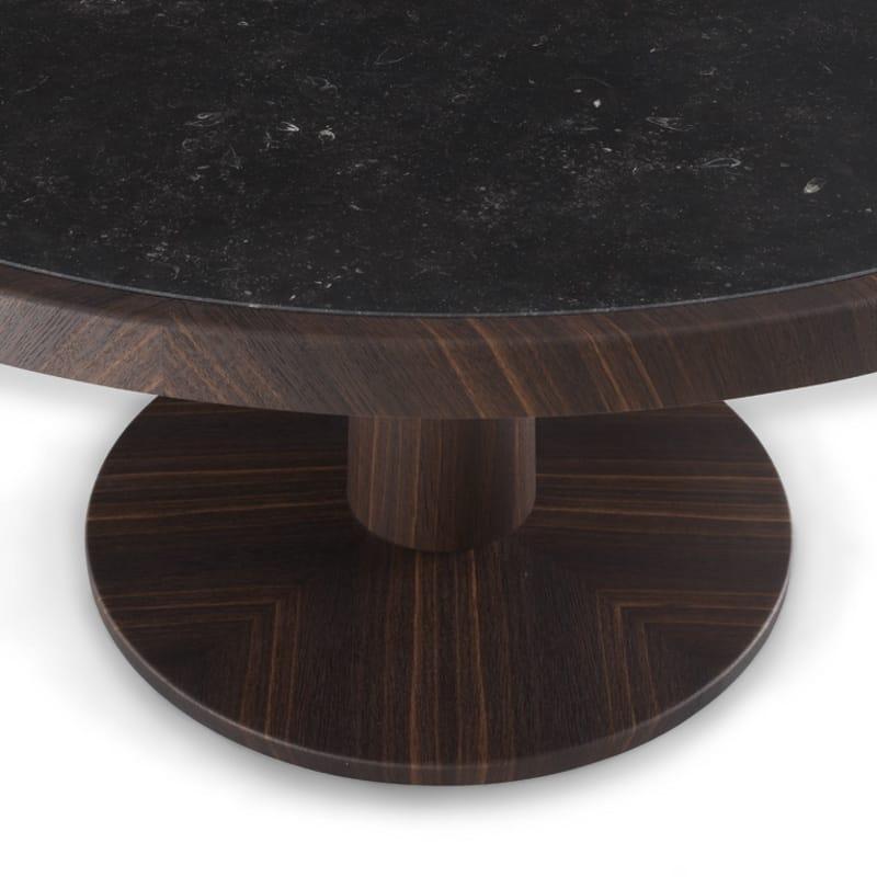 table ronde en bois massif anna collection anna by poliform. Black Bedroom Furniture Sets. Home Design Ideas