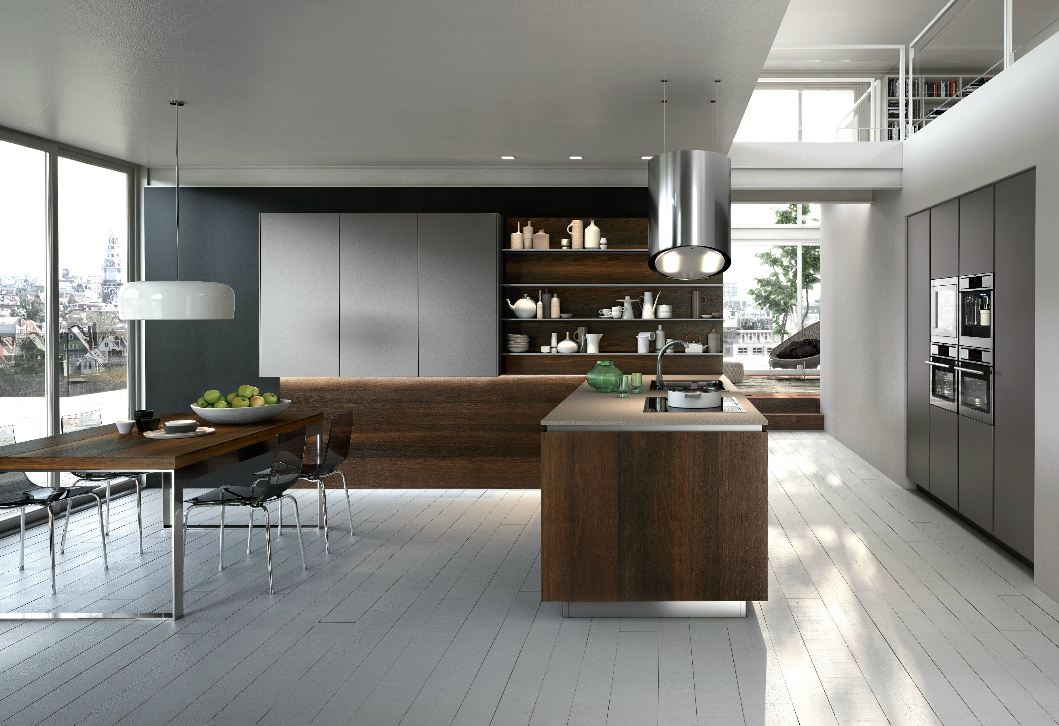 inselhaube mit bipolarer kontrollierter ionisierung way by. Black Bedroom Furniture Sets. Home Design Ideas