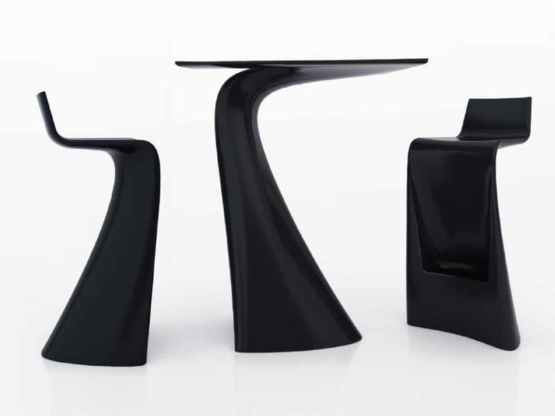 wing tabouret de jardin by vondom design a cero. Black Bedroom Furniture Sets. Home Design Ideas