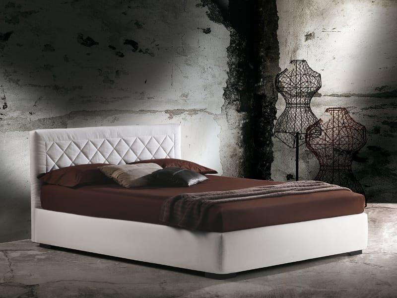 Letto contenitore matrimoniale martinica by milano bedding for Letto matrimoniale usato milano