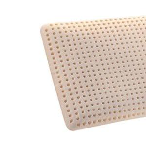 Oreiller ergonomique en latex : oreiller pour mal de dos