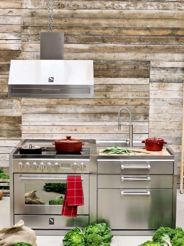 genesi el ment de cuisine by steel. Black Bedroom Furniture Sets. Home Design Ideas