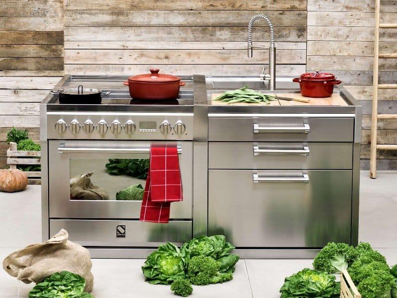 Küchenelemente  GENESI | Küchenelement By Steel