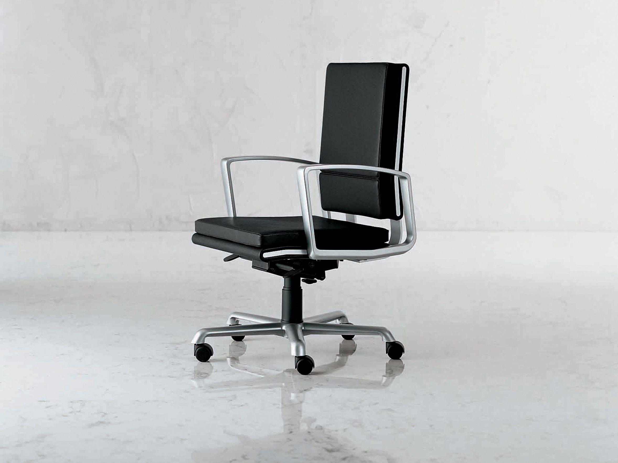 Ribbon fauteuil de direction by i 4 mariani design gianpaolo monti - Fauteuil reglable en hauteur ...