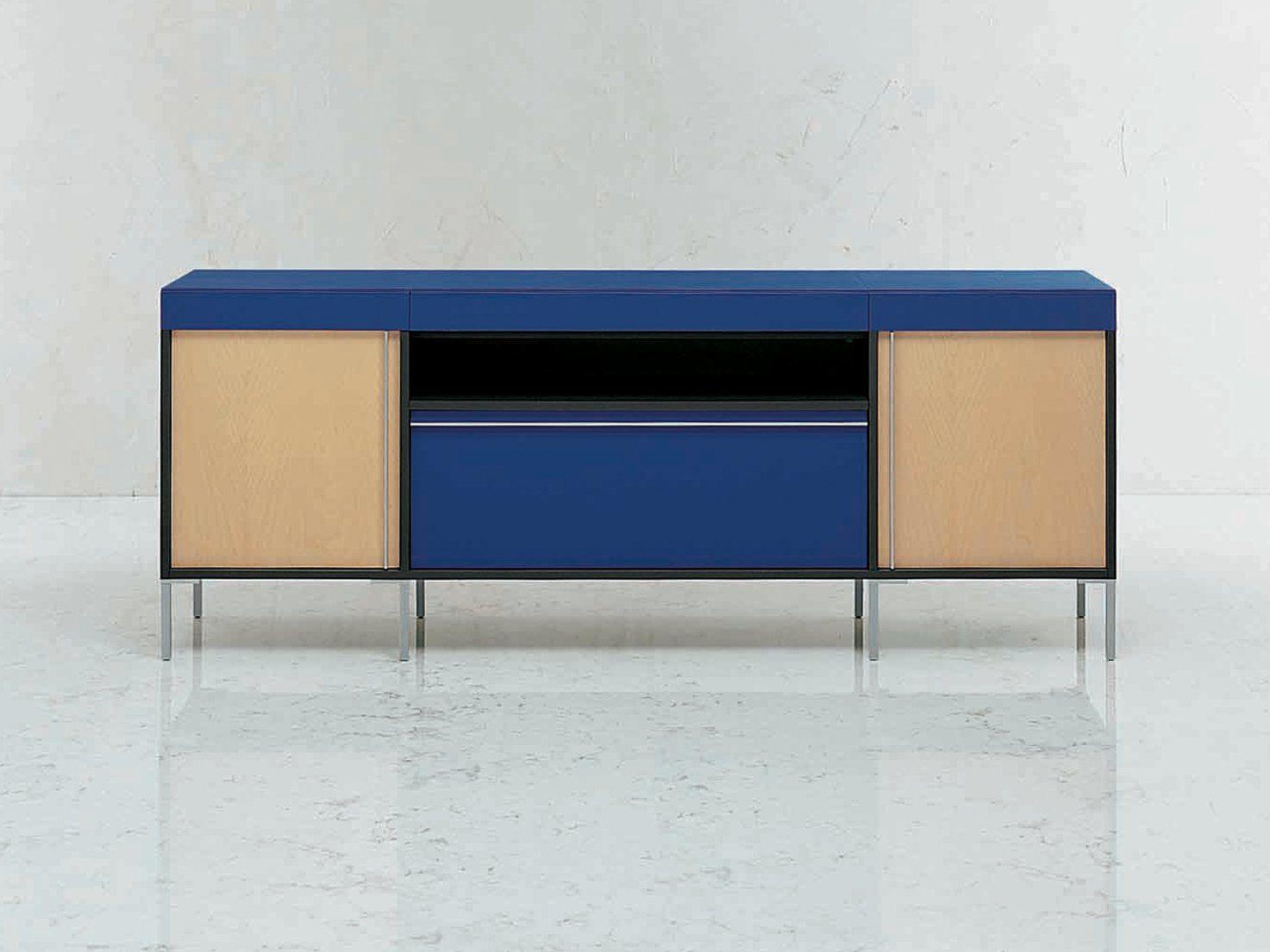 Mobile ufficio basso modulare in legno collezione ribbon for Mobile basso ufficio