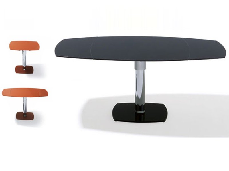 tavolo ad altezza regolabile allungabile k 2120 2121 e tavolo ronald schmitt. Black Bedroom Furniture Sets. Home Design Ideas