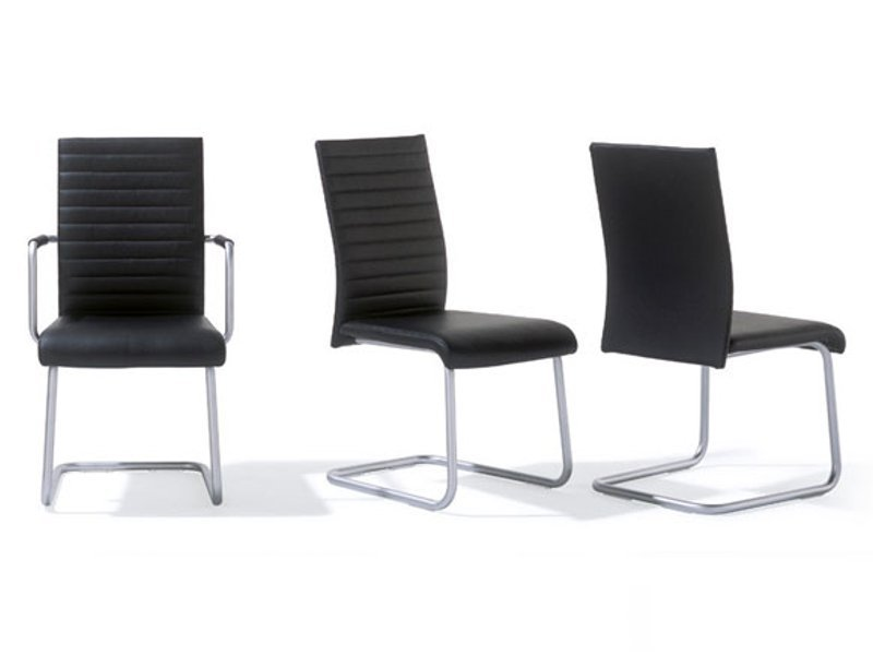 gepolsterter freischwinger rst 54 55 by ronald schmitt. Black Bedroom Furniture Sets. Home Design Ideas