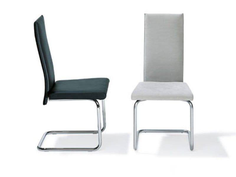 freischwinger mit hoher r ckenlehne rst 18 19 by ronald schmitt. Black Bedroom Furniture Sets. Home Design Ideas