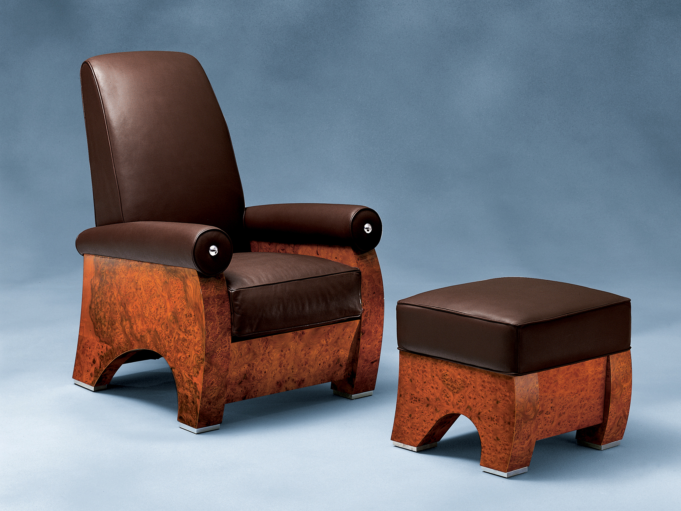 Fauteuil inclinable - Fauteuil en cuir inclinable ...
