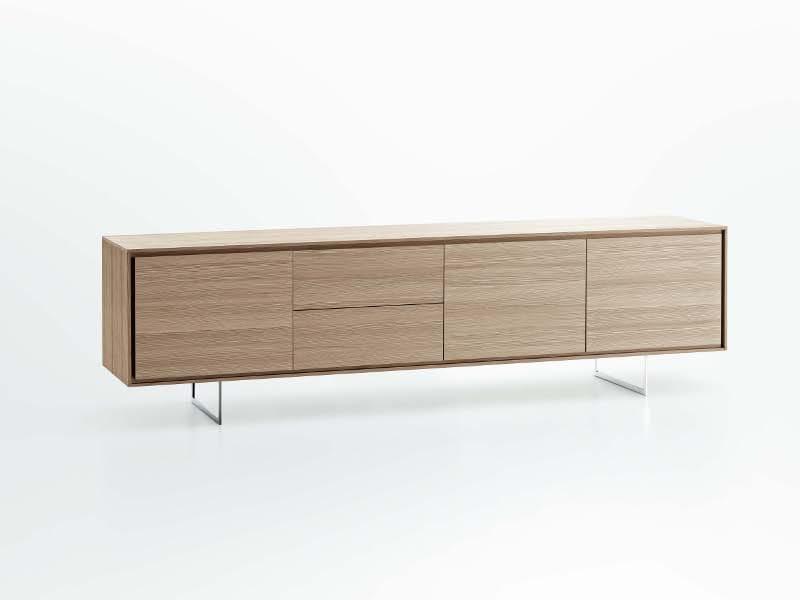 Buffet avec portes avec tiroirs shadows collection tempo - Credenze basse ikea ...