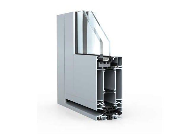 Porte d entr e vitr e en aluminium pour l 39 exterieur for Porte exterieur aluminium