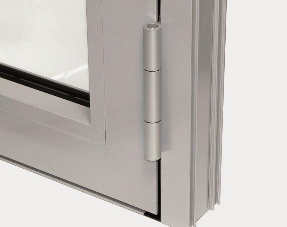 Porte d entr e vitr e en aluminium pour l 39 exterieur - Porte vitree en aluminium ...