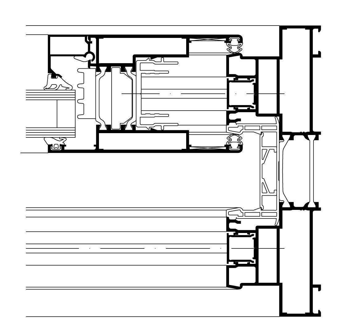 Finestra alzante scorrevole wicslide 160 by wicona - Smontare maniglia finestra senza viti ...