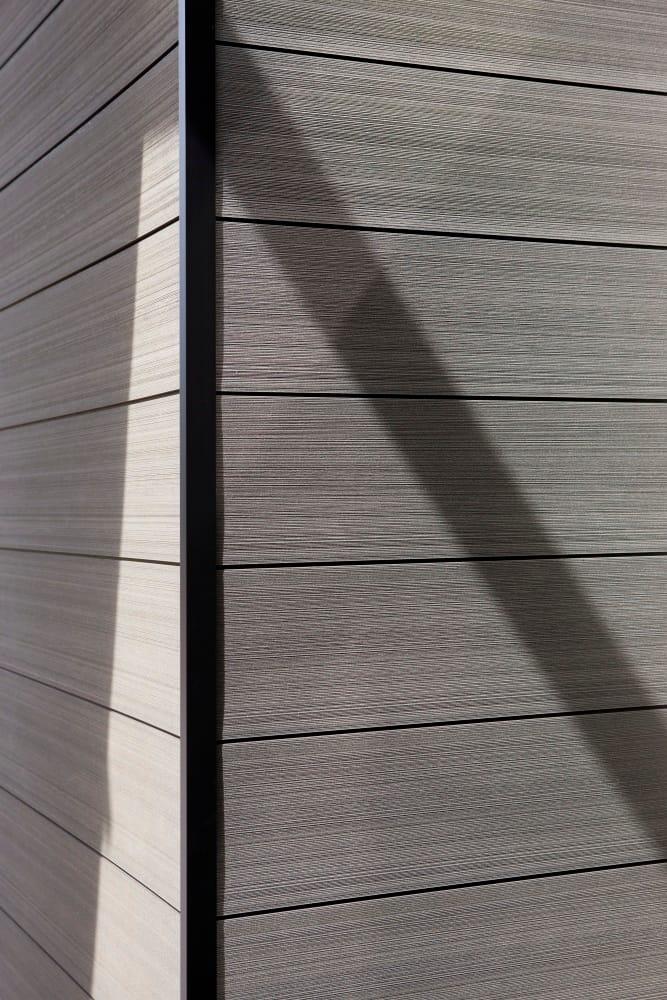 Composite material facade panel o wall by twinson by deceuninck - Twinson deceuninck prix ...