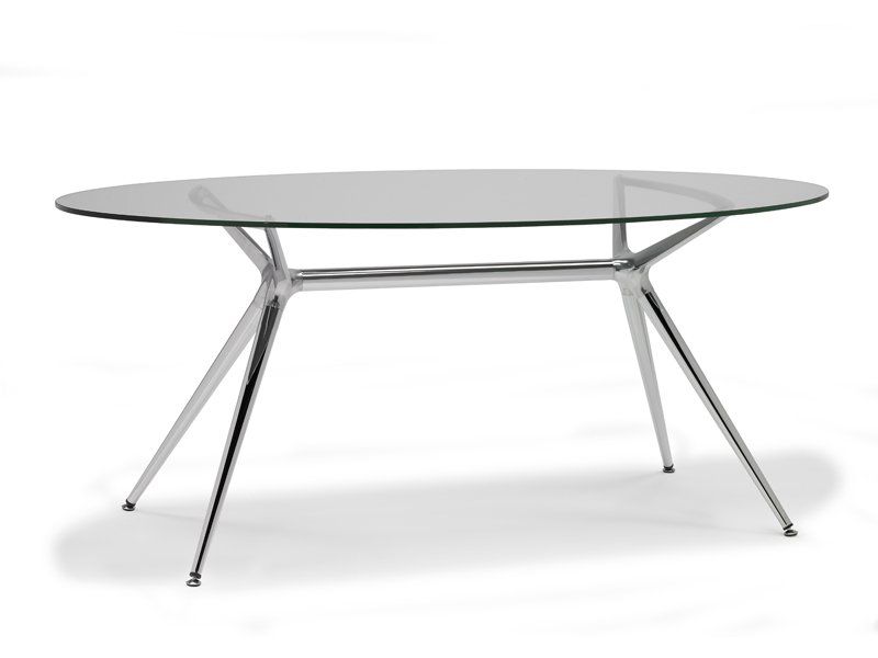 Metropolis oval table by scab design - Table ovale salle a manger ...