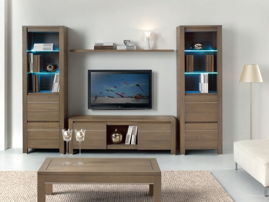 Mueble modular de pared con soporte para tv VOGUE by Domus Arte