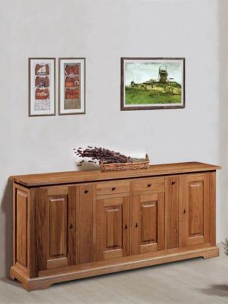 Ardeche alacena by domus arte for Alacenas de madera