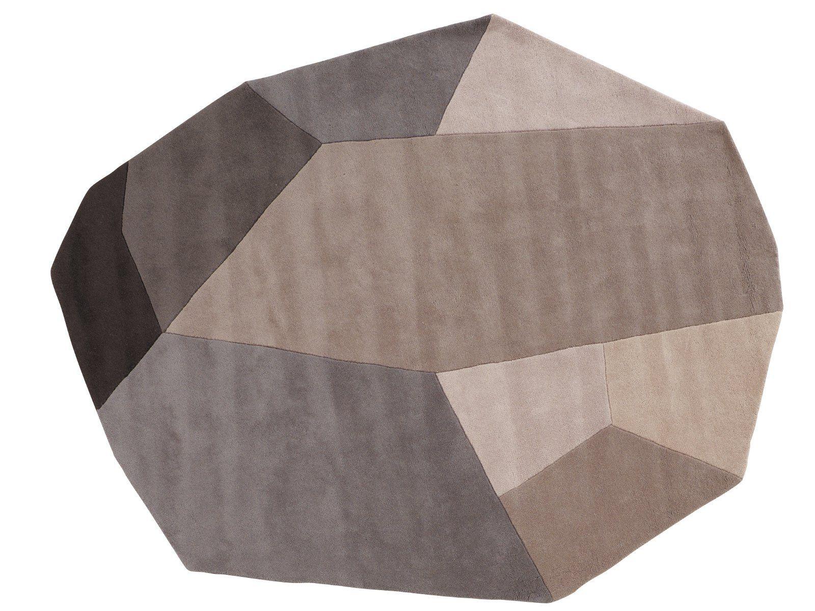 tappeto in lana menhir by roset italia design damaris marc. Black Bedroom Furniture Sets. Home Design Ideas