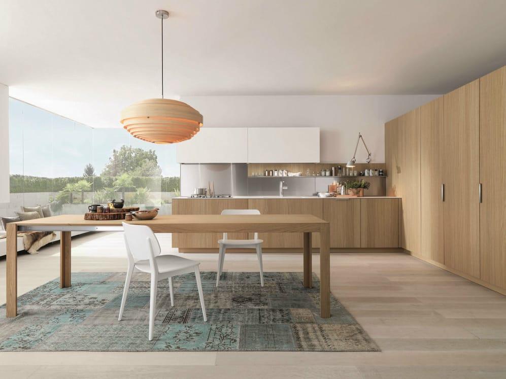 Cuisine int gr e en bois antis 12 by euromobil design roberto gobbo - Cuisine integree ...