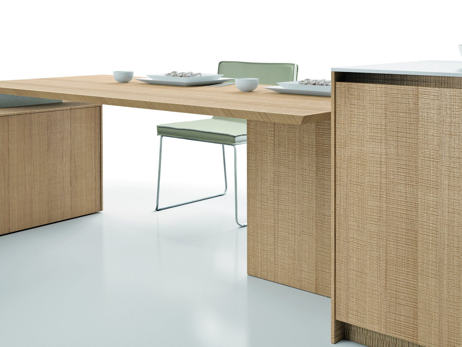 Wooden fitted kitchen filo antis assim assim collection for Wooden fitted kitchen
