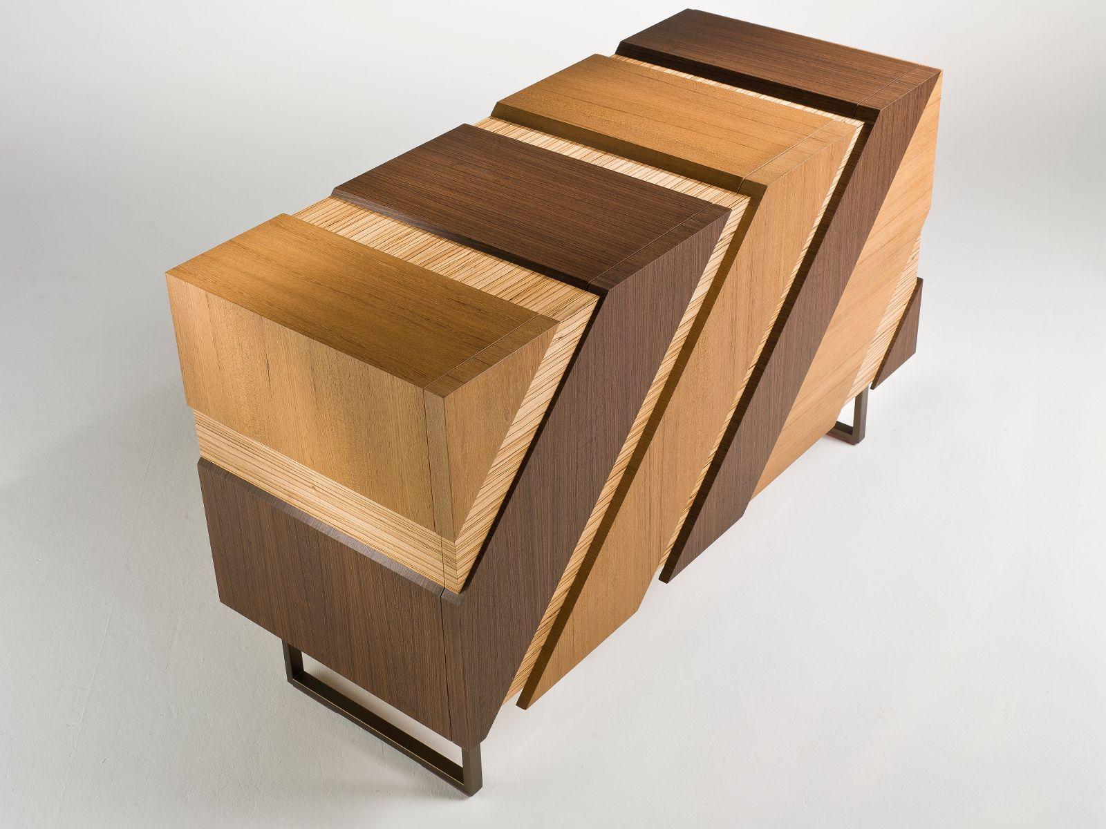 1200 #372311 Wooden Sideboard With Doors SLIDE By I 4 Mariani Design Alessandro  wallpaper Wooden Slide Doors 2351600