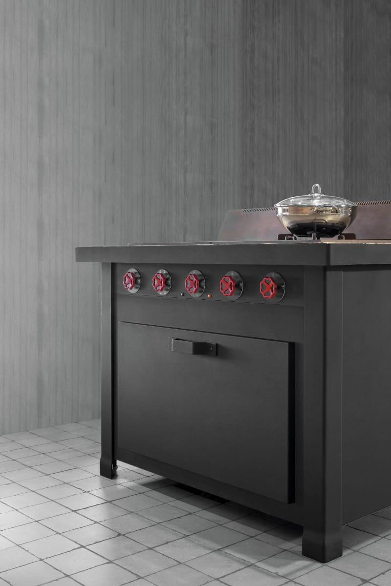 Einbauküche mit Kücheninsel MINÀ PROFESSIONAL by ...