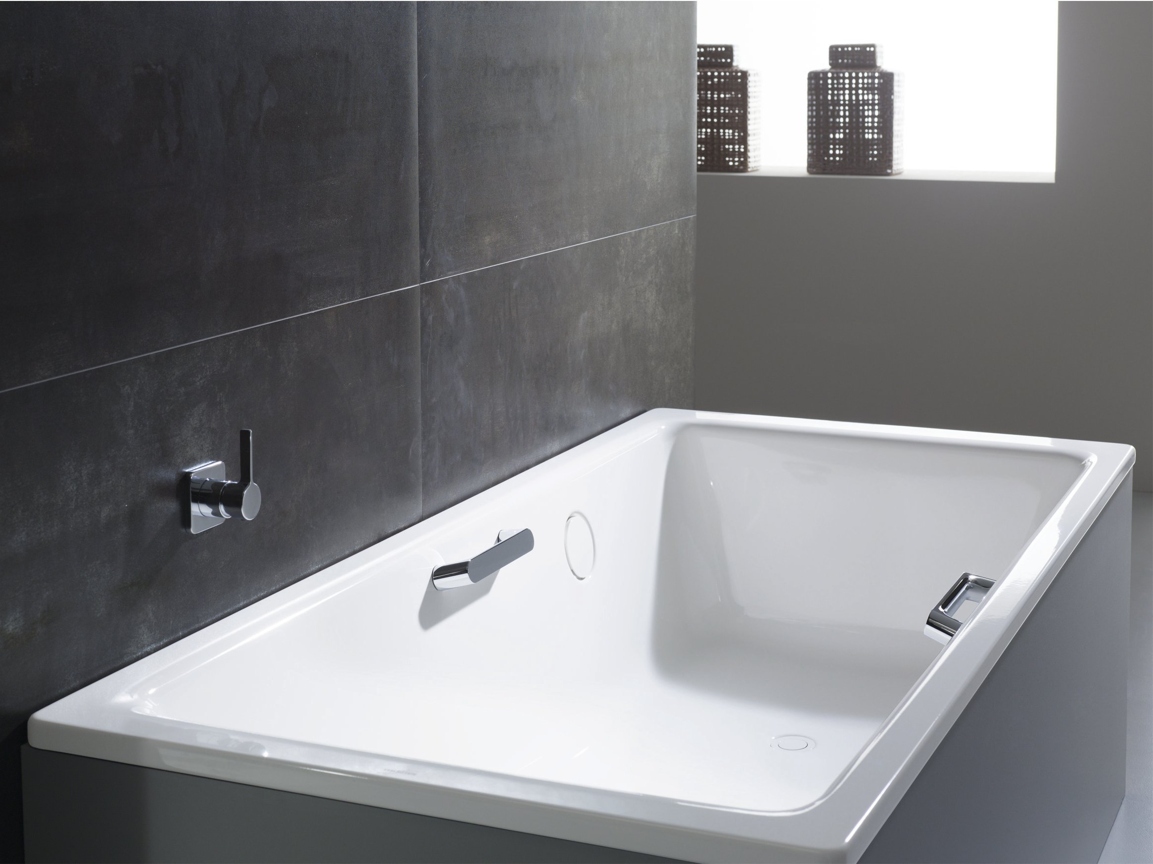 Haltegriff nobler purismus by kaldewei italia design - Vernici per vasche da bagno ...