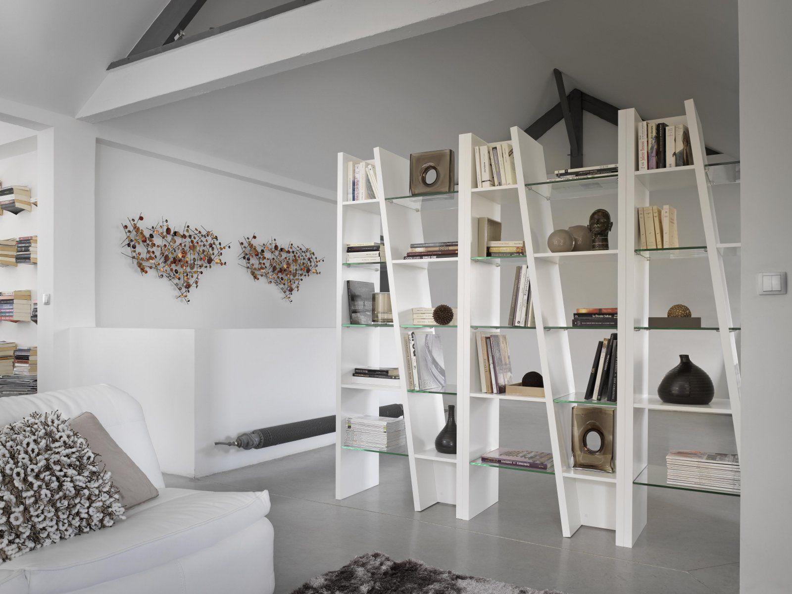 Brem libreria by gautier france - Mobili divisori ambienti ...