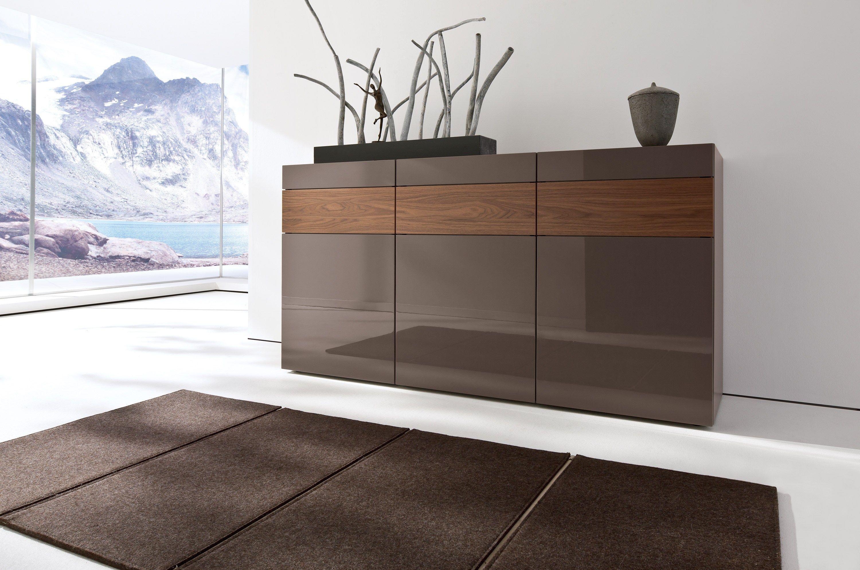 neo sideboard mit schubladen by h lsta werke h ls. Black Bedroom Furniture Sets. Home Design Ideas