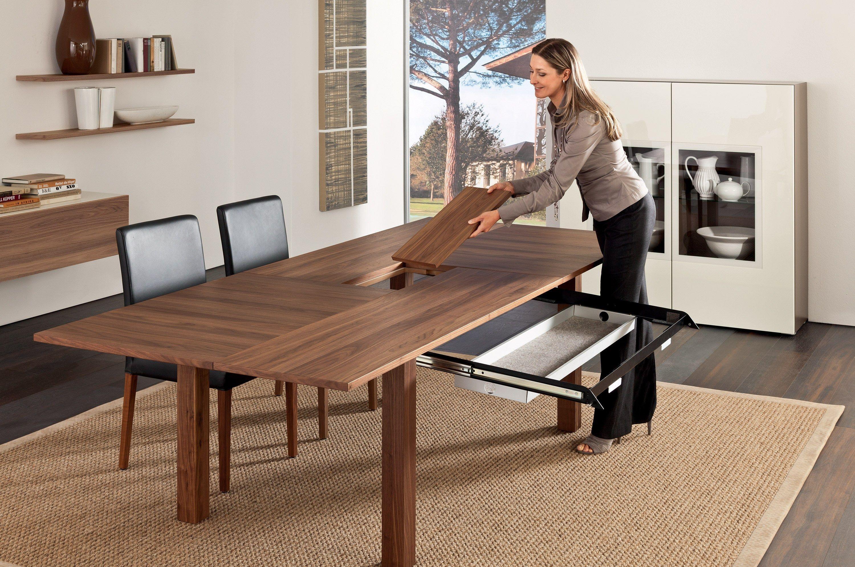 ausziehbarer esstisch et 1700 kollektion tische by h lsta. Black Bedroom Furniture Sets. Home Design Ideas