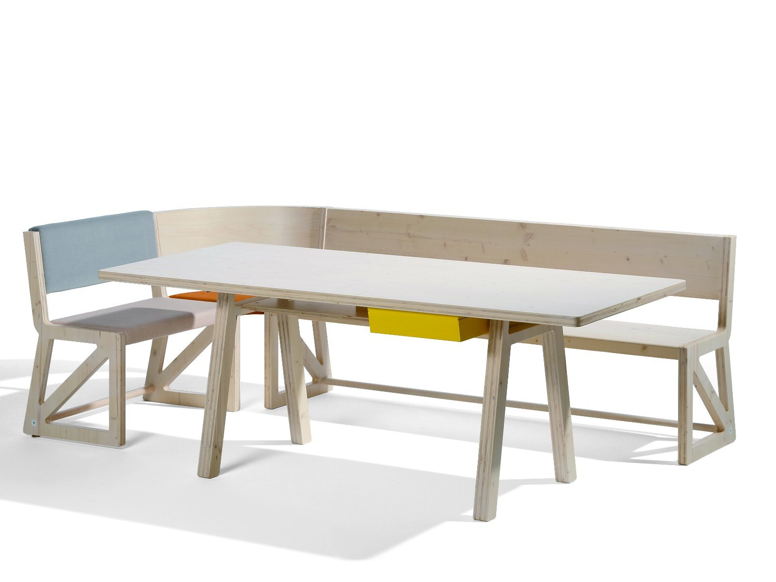 panca in legno massello collezione stijl by richard lampert design alexander seifried. Black Bedroom Furniture Sets. Home Design Ideas