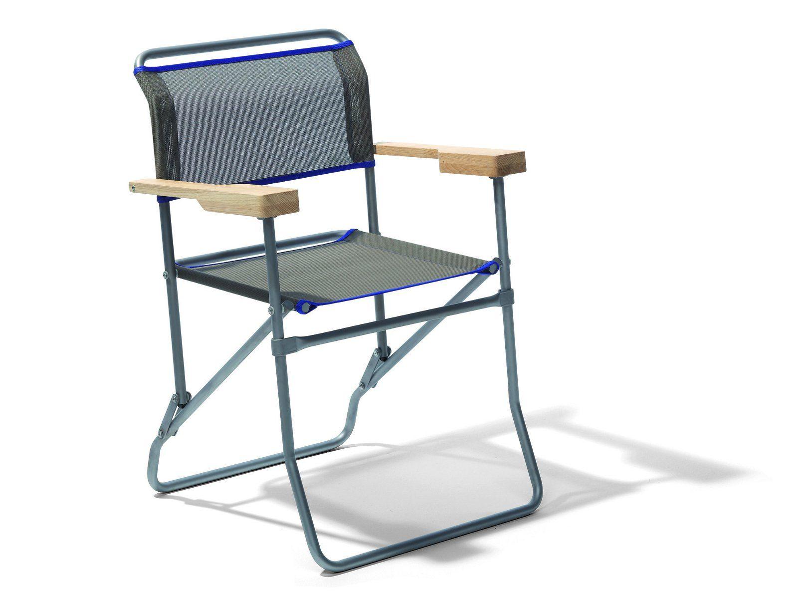 Chaise de jardin pliable avec accoudoirs for Table pliable avec chaise