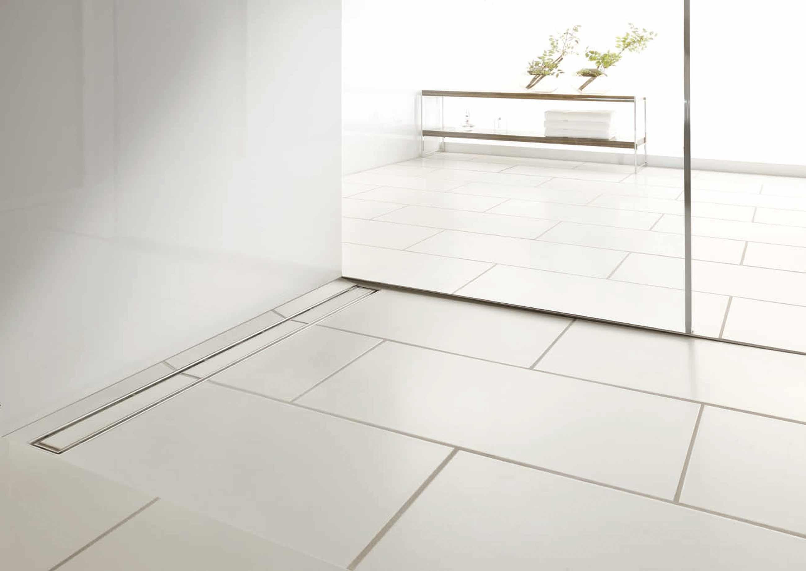 Piatto doccia filo pavimento piastrellabile raccordi tubi innocenti - Piatto doccia raso pavimento ...