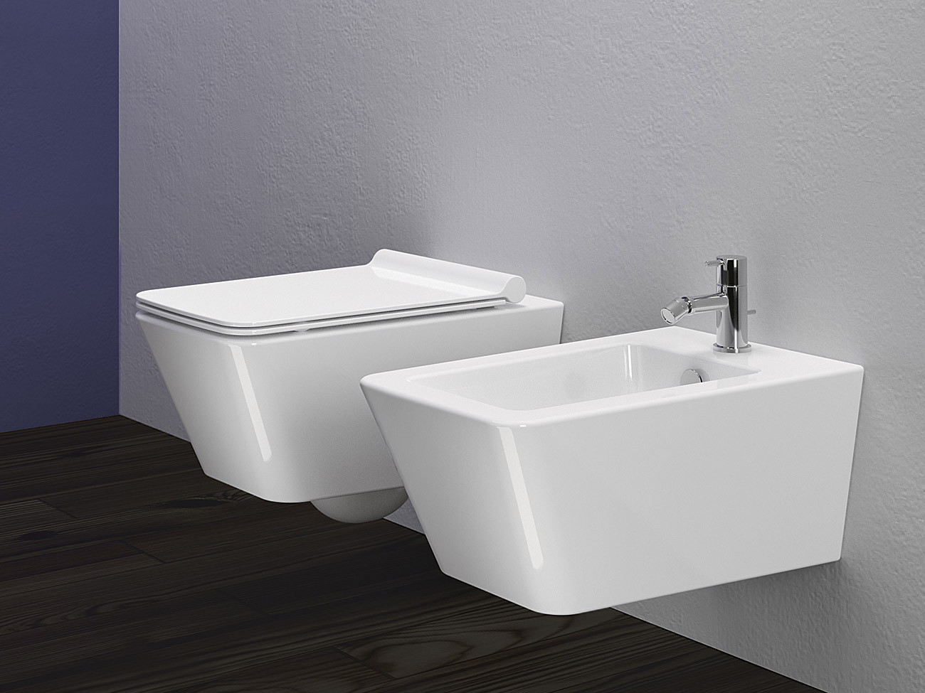 Proiezioni 56 bidet by ceramica catalano for Ceramica catalano