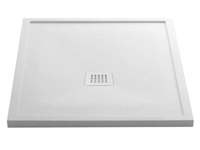 Custom marmogres shower tray quaranta h4 by ceramica cielo - Piatto doccia marmogres ...
