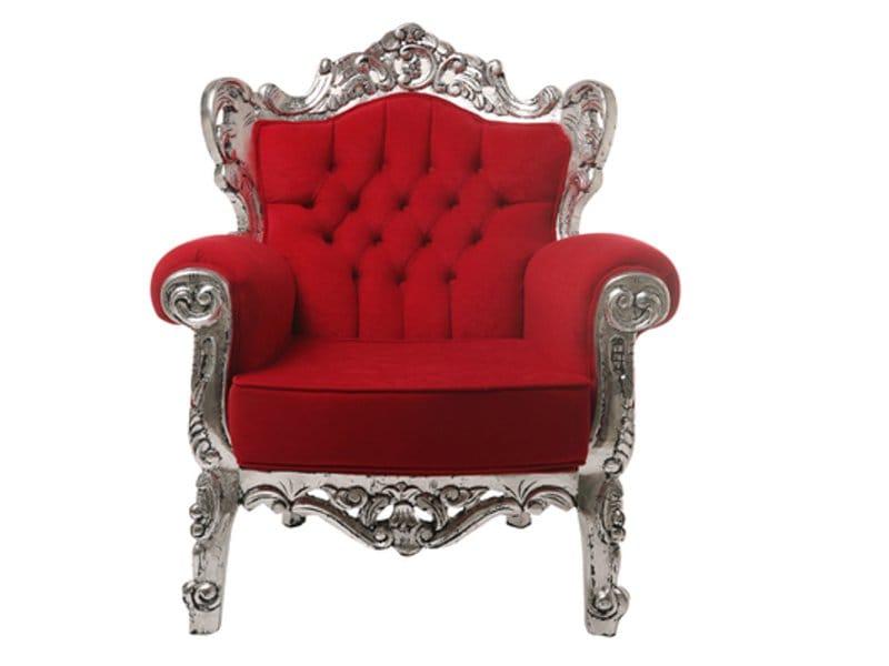 Poltrona in stile barocco tendence opulence collezione for Poltrona kare design