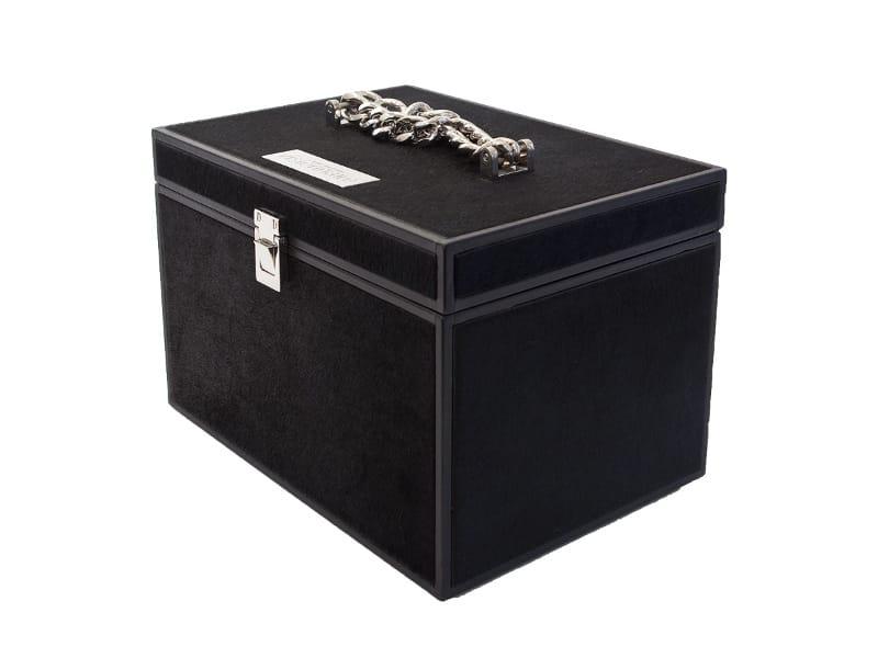 bo te bijoux en cuir sigmund by visionnaire design samuele mazza alessandro la spada. Black Bedroom Furniture Sets. Home Design Ideas