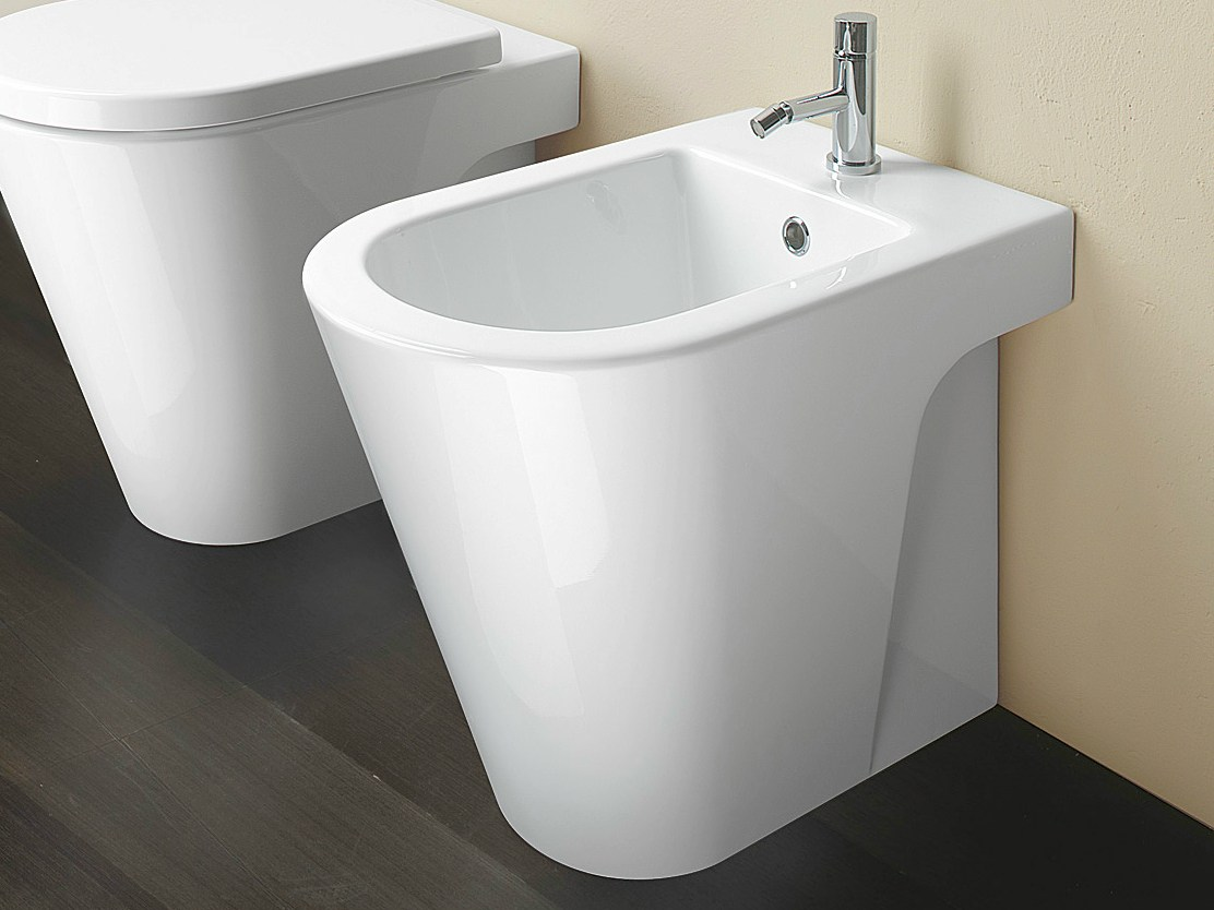zero 55 bidet by ceramica catalano design cdc catalano. Black Bedroom Furniture Sets. Home Design Ideas